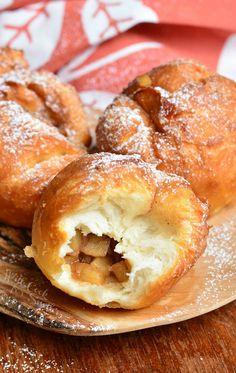 Easy Apple Pie Doughnuts | from willcookforsmiles.com