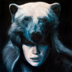 Paintings by Nate Frizzell | http://ineedaguide.blogspot.com/2015/05/nate-frizzell.html | #art #paintings