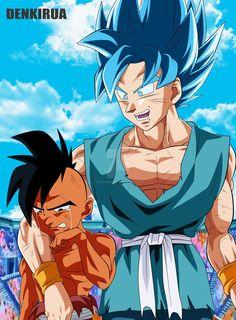 do not be sad by PiPeSnOw Goku And Vegeta, Son Goku, Journey To The West, Dragon Ball Gt, Manga, Akira, Animation, Fan Art, Illustration