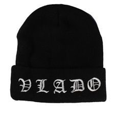 Vlado Footwear presents the Old English Beanie. #ootd #accessories #beanie #winter