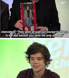 Why would they tell him?! I love you Harry :)