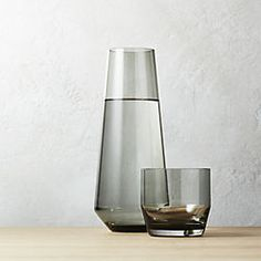 Liv Smoke Glass Carafe