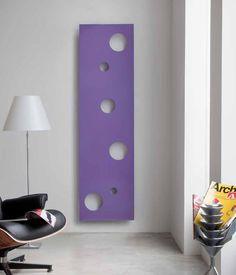 """purple """"cheese"""" radiator"""