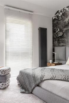 Let Me Blinds control the mood of your room! Custom Made Blinds Delivered To Your Door. Save OFF Brick & Mortar Store Prices. White Blinds, Blinds Online, Interior Styling, Interior Design, Bedroom Blinds, Brick And Mortar, Shades Blinds, Window Styles, Room Style
