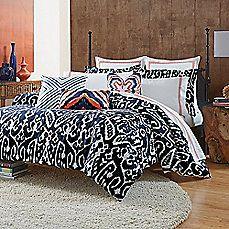 image of Trina Turk® Indigo Ikat Comforter Set