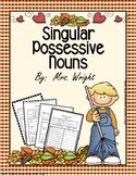 Singular Possessive Noun Worksheets by Janeice Wright Singular Possessive Nouns, Possessive Nouns Worksheets, Nouns And Adjectives, Teacher Blogs, Teacher Resources, Primary Resources, Teaching Ideas, Subject And Predicate, Reading Resources