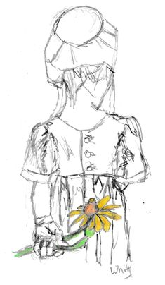 yellow flower drawing flowers pencil drawings
