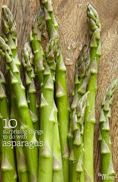 Asparagus, Reinvented