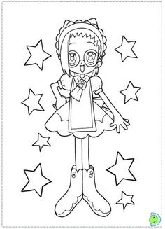 Magical Doremi Coloring Page