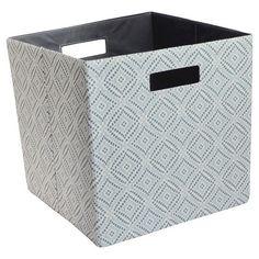 "Fabric Cube Storage Bin (13"") - Threshold™ : Target"