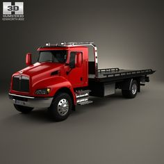 Kenworth T370 Tow Truck 2009 3d model from humster3d.com. Price: $75