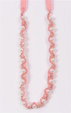 Ah, the Wrapped Pearl Necklace @DownEast Basics #SpringStyle and it comes in cream too!