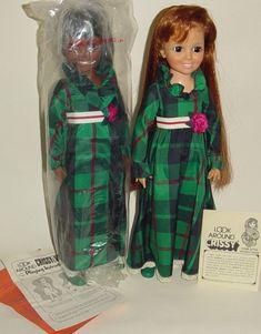 Crissy in 1972. My mom has one of these dolls and I played with it when I was younger!! We still have it!