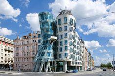 Tančící dům Vlado Milunić, Frank Gehry