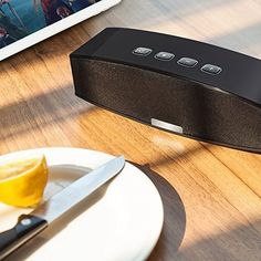 If you're looking for a portable bluetooth speaker that offers great sound without breaking the bank, Anker's SoundCore is calling your name. Anker's SoundCore is your favorite Bluetooth speaker, but its powerful big brother is on sale today Best Speakers, Stereo Speakers, Bluetooth Speakers, Ebay Auction, Iphone, Bass, Brother, Ipad, Audio