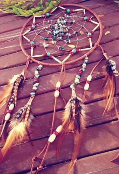 Beaded Dream Catcher.  Perfect gifts for  friends. Especially during rough times. http://www.griphop.com/