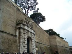 An entrance to Vatican City - My photo