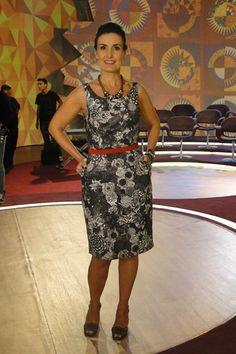 Guarda Roupa Dourado: O estilo de Fátima Bernardes