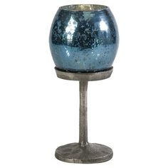 Starry Candleholder in Ocean Blue  at Joss and Main