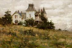 Richard Schmid (1934–Present), Olympic House, oil on canvas, 20 x 30 in, Estimate: $75,000–$100,000