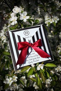 These are beautiful!!    DIY Stripe Printable Wedding Invitation - Brigitte Klotzek-Obringer - The Posh Event by ThePoshEvent, via Flickr