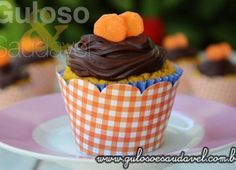Cupcakes de Cenoura Funcionais