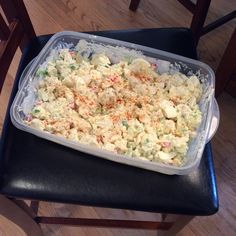 First potato salad of the season