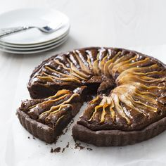 Pear & chocolate frangipane | Recipes to Love Thermomix ebook