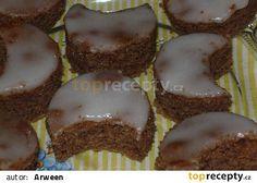 Maminčiny citrónové měsíčky recept - TopRecepty.cz Chicken Paprikash, Xmas Cookies, Muffin, Baking, Breakfast, Food, Lemon, Morning Coffee, Christmas Biscuits