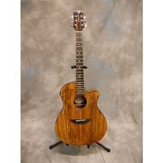 Luna Guitars Gypsy Spalt Acoustic Electric Acoustic Electric Guitar Antique Natural