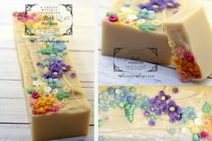 Honeysuckle Soap | http://sorcerysoap.com/product/honeysuckle-soap/