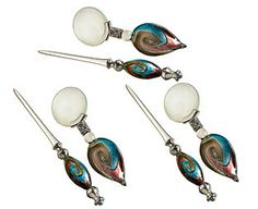 Original Gift Company Art Glass Magnifier and Letter Openers - Buy 2 Unique works of art and practical instruments combined, our magnifier and letter opener have handmade glass handles in shimmering jewel-like colours. http://www.MightGet.com/february-2017-2/original-gift-company-art-glass-magnifier-and-letter-openers--buy-2.asp