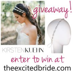 Wedding Giveaway - win bridal accessories from theexcitedbride.com