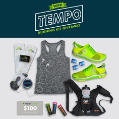 Want to win TEMPO Running Kit? I just entered to win and you can too. http://gvwy.io/932rv1u