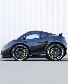 Mini Lamborghini Gallardo by on DeviantArt Small Suv, Small Cars, Weird Cars, Cool Cars, Smart Car Body Kits, Arte Lowrider, Diy Go Kart, Microcar, Car Camper