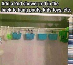 Shower organization