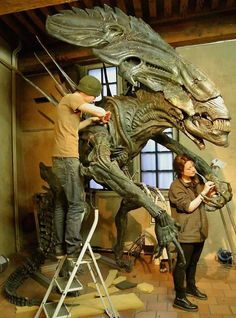 Xenomorph queen from Aliens