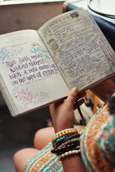 thoughts on journalling