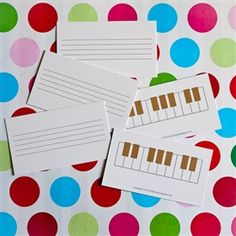 Reusable game cards for the studio. Create game cards instantly by writing questions with a dry erase marker! Wipes off easily with a dry eraser or paper towel