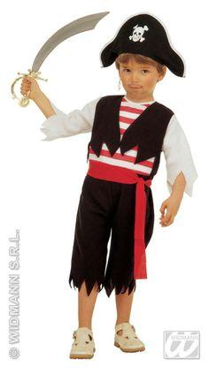 Kleine Piraat Kapitein Geenbaard Kostuum ==> Feestkleding 365!