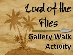 This is a gallery walk assignment for Lord of the Flies that requires students to view and write about images related to the text. A gallery walk is an activity that requires students to circulate around the room while thoughtfully observing and analyzing visual content. $2.50