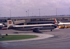BEA British European Airways Vickers Vanguard