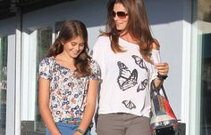 Cindy Crawford and Kaia Gerber ~ one of the most fashionable celebrity mother-daughter duos!