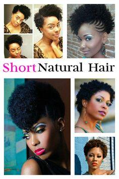 Short natural hairstyles #short #naturalhair