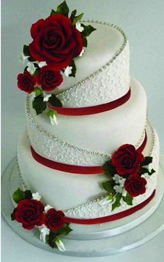 ✔ spectacular buttercream wedding cakes 00038 Related ✔ spectacular buttercream wedding cake Wedding Cake Red, Floral Wedding Cakes, Amazing Wedding Cakes, Wedding Cakes With Flowers, Elegant Wedding Cakes, Wedding Cake Designs, Fruit Wedding, Vintage Wedding Cake Toppers, Trendy Wedding