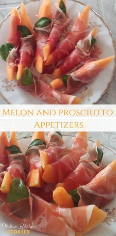 Fresh juicy melon and prosciutto appetizers are my favorite summer #dishes. Delicate #melon and a dry #prosciutto with a good kick of salt are a perfect combination. You can prepare this #italian #appetizer in less than 10 minutes and impress your guests or just have it as a light #dinner accompanied by a good glass of #wine. If you crave that extra #richflavour kick add fresh #basil leaves. Buon Appetito! :)
