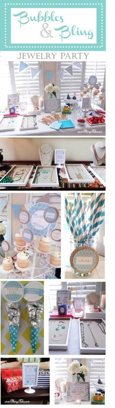 Bubbles and bling jewelry party_Stella & Dot