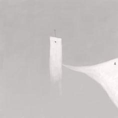 Nacho Frades, Tower vomits her own soul on ArtStack #nacho-frades #art