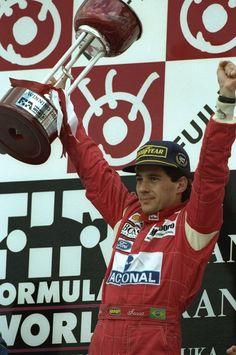 Ayrton Senna, McLaren-Honda, #12, (finished 1st) Japanese Grand Prix was held at Suzuka Circuit, Japan, on October 30, 1988.