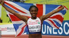 Dina Asher-Smith: Sprinter sets women's British 100m record  #sports #athletes #CoreAthletics